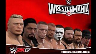 WWE 2K17 Wrestlemania 31 Highlights