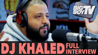 DJ Khaled on Snapchat, Getting Tickets on Jet-Skis, And More! (Full Interview)   BigBoyTV