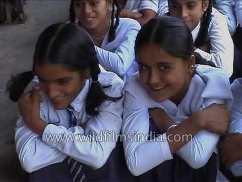 Xxx Mp4 Bright Sparky School Girls In Rural India Teachers Wield Canes At Indira Gandhi Public School In UP 3gp Sex