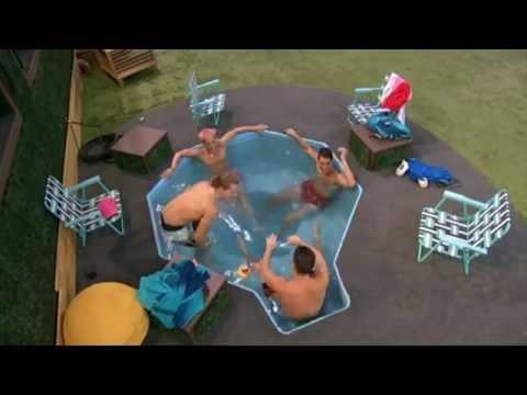 Zach, Frankie, Cody & Hayden talk sex & life after BB16 in the hot tub
