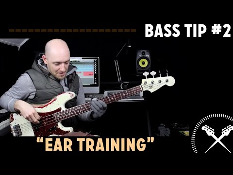 Bass Tip #2 - 'Ear Training' - with Scott Devine (L#82)