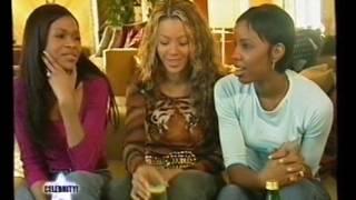 Destiny's Child Celebrity! interview 2000