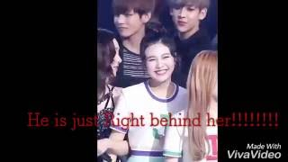 BTS V and Red velvet Joy Funny and  Real Moments