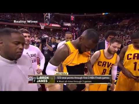 Cadena ABC muestra el pene de LeBron James accidentalmente juego 5 de la final nba 2015