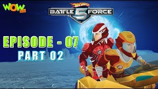 Motu Patlu presents Hot Wheels Battle Force 5 - Behind Enemy Lines - Episode 7-P2 - in Hindi