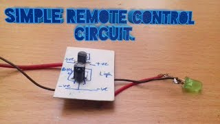 .😎👍..I.R 📡Remote control 📡circuit very easy...😲