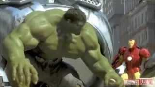 Iron Man,Spider-Man and the Hulk
