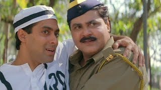 Judwaa - Salman Khan - Karishma Kapoor - Raja Befools Police Again - Best Bollywood Comedy