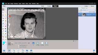 Photoshop Elements Tutorial 02-2 Restoring An Old Photo