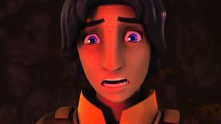 Star Wars Rebels   Kanan vs  The Inquisitor Ezra's vision 1080p