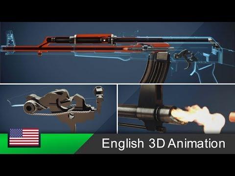 Xxx Mp4 AK 47 How This Rifle Works Animation 3gp Sex
