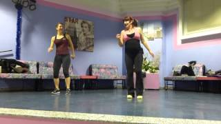 Jazzercise routine CELEBRATE  Italy instructors