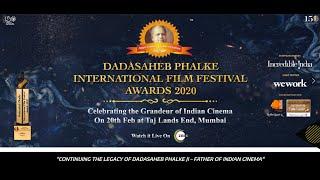 Teaser of Dadasaheb Phalke International Film Festival Awards 2020 (DPIFF)