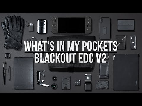 What s In My Pockets Ep. 5 Blackout V2 Farer Design Dayfarer Sling