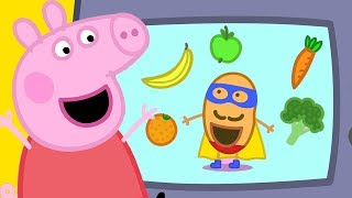 Peppa Pig Official Channel   Super Potato at Peppa Pig