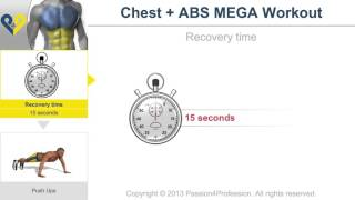 Chest   Abs MEGA workout No music version