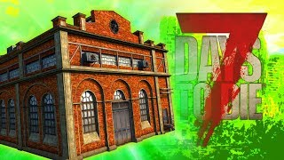 SECRET CRATE FACTORY (7 Days To Die - War of the Walkers Mod)(Ep.3)