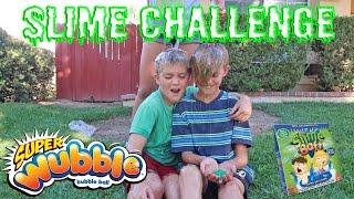 WUBBLE BUBBLE SLIME CHALLENGE!