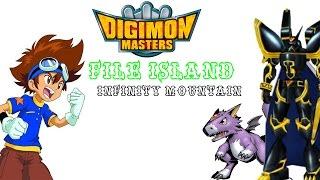 Digimon Masters Online : File Island Waterfeont oraz Infinity Mountain