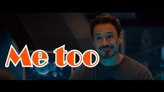 °°Me too°° ✌ - Tony Stark