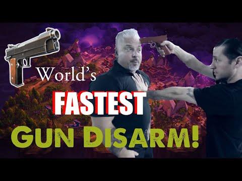 watch Number One World's FASTEST Handgun Disarm!!! - POLICE EDITION