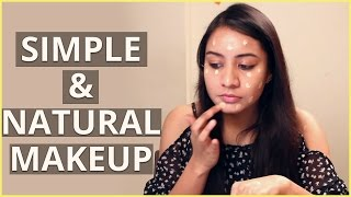 DIY Simple & NATURAL MAKEUP Tutorial For Beginners