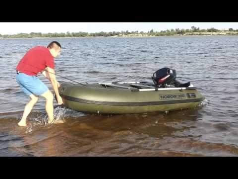 колеса на лодку компас