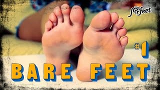 👣 MrFeetTV - Female Bare Foot. Pretty Bare Feet and Soles. Real Barefoot