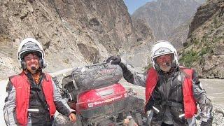 IRAN PAMIR MONGOLIA SIBERIA by Motorcycle