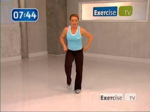Amy Dixon Basic Cardio Blast Exercise TV