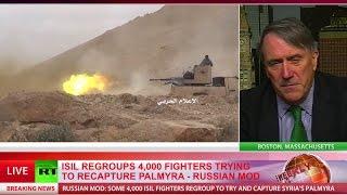 'It's clear Assad has won this war' - former US ambassador