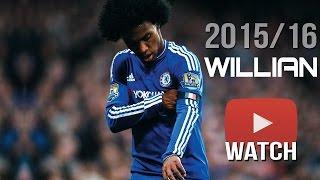 Willian Borges da Silva ● All Free Kick Goals ● Chelsea FC ● 2015/16