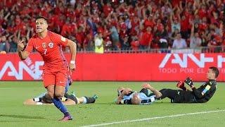 Chile 3 - 1 Uruguay | Eliminatorias Rusia 2018 | Claudio Palma