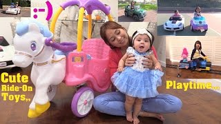 Power Wheels Ride-On Cars, Little Tikes Princess Carriage, Disney Princess Car and More!