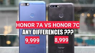 Honor 7A vs Honor 7C | Full Comparison | Which Should Buy ? Hindi