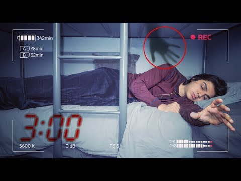 DO NOT RECORD YOURSELF SLEEPING AT 3:00 AM | *THIS IS WHY* | 3 AM SLEEPING CHALLENGE!