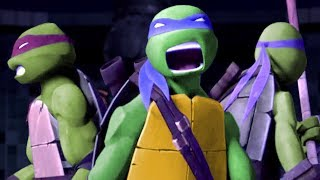 Teenage Mutant Ninja Turtles Legends - Episode 118 -  Squirrel Cracking Shells