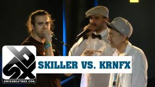 KRNFX vs SKILLER  |  Grand Beatbox Battle 2011  |  FINAL
