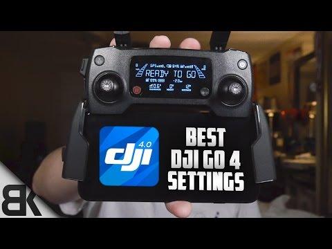 The Best DJI Go 4 Settings For the Mavic Pro