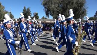 Irvington High School Varsity Marching Band - Del Mar Band Review - 10/7/17