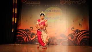 Mangalacharan  Shantakaram- performance by Guru Smt. Smaranika Jena