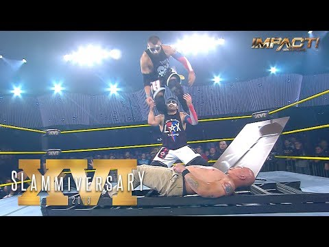 Xxx Mp4 LAX Take Homicide Hernandez To The LIMIT In 5150 Street Fight At Slammiversary 2018 3gp Sex