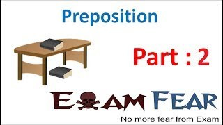 English Grammar Preposition (English) Part 2: Simple and Compound Preposition