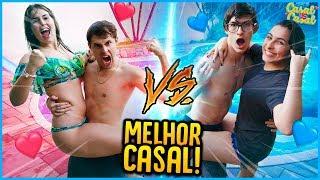 CASAL VS CASAL: QUAL É O MELHOR CASAL?! [ REZENDE EVIL ]