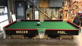 Soccer Pool, Foot Pool, Foot Billiards