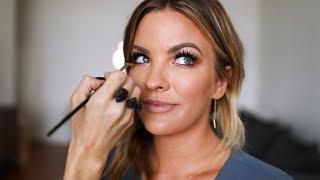 Makeup tutorial with Emma Willis! | Becca Tilley