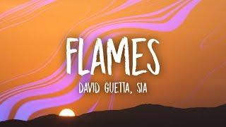 David Guetta & Sia - Flames (Lyrics)