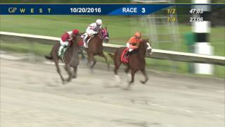 Gulfstream Park West Race 3 | October 20, 2016