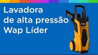 Lavadora de Alta Pressão Wap Líder 1520 Libras Mangueira 5 Metros + Escova para Pneu + Calibrador