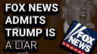 SHOCK: Fox News Fact-Checks Trump: None Of That Was True